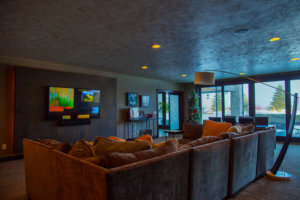 Custom Home Entertainment Rooms
